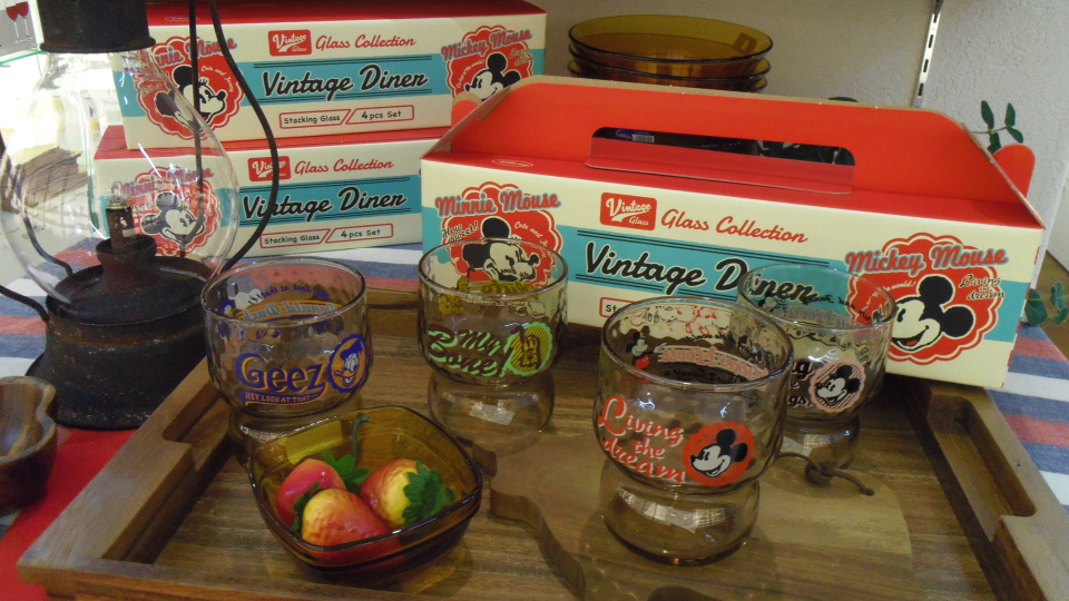 Vintage Diner グラスセット